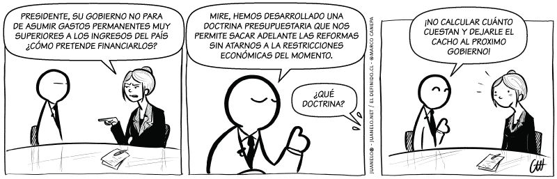 Juanelo 2057: Doctrina