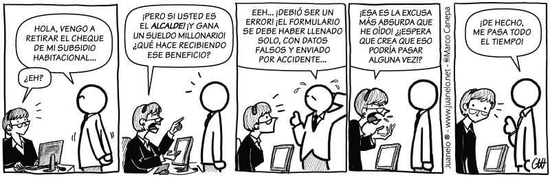Juanelo en Terra 193 - Accidente